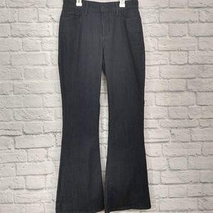 NYDJ | Super Dark Wash Flare Jeans